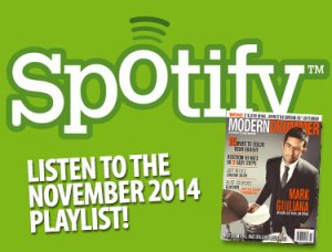 Listen to the Drumming on Spotify: Great Tracks From MD's December Issue