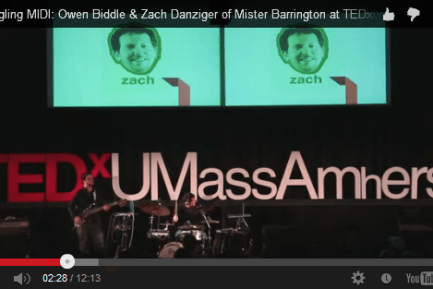 Zach Danziger and Owen Biddle TEDx Performance