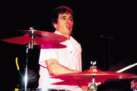 drummer Philip Peeples of The Old 97's