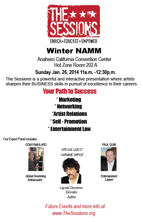 winter namm 14 the session