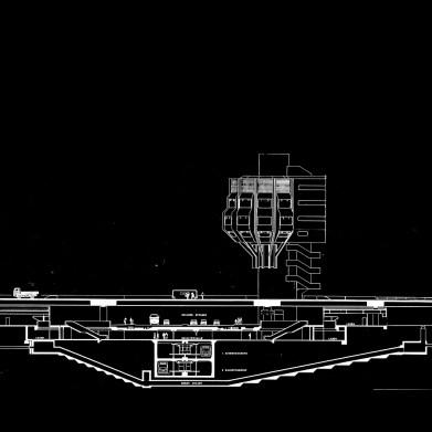Wie er geworden ist: Berlin, Bierpinsel-Entwurf, 1972 (Copyright: Archiv Schüler-Witte)