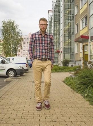 Christoph Liepach 2016 in der Birkenstraße von Gera-Lusan (Bild: privat)