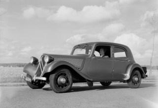 Flaminio Bertoni: der Citroën 11 CV aus dem Jahr 1934 (Bild: historisches Werksfoto)