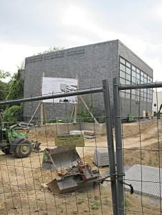 Frankfurt am Main, ehemaliges Evangelisch-Reformiertes Gemeindezentrum (Bild: Karin Berkemann, Sommer 2015)