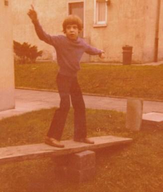 Denis Barthel, aufgewachsen im Ruhrgebiet, erkundet mit 10 Jahren seine gebaute Umwelt (Bild: privat)