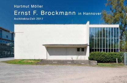 Covermotiv (Hannover, Nürnberger Lebensversicherung, E. F. Brockmann, 1955) der entstehenden Publikation von Hartmut Möller über Ernst F. Brockmann