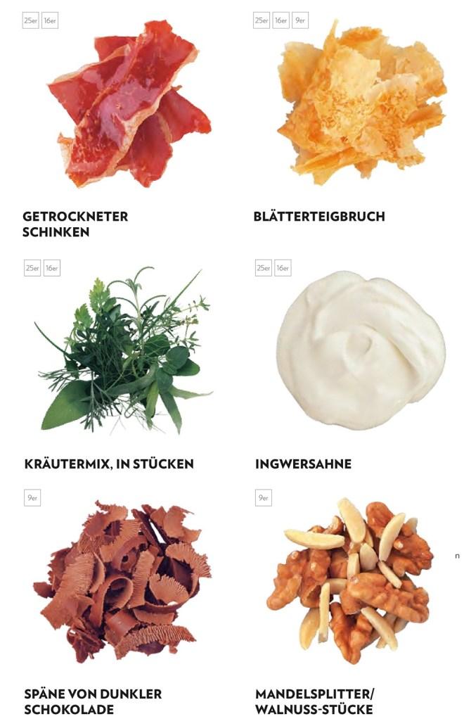 Essen zurückgeführt auf elementare Zutaten und Aromen (Bildquelle: Jürgen Dollase, Geschmacksschule, Foto: Peter Schulte für Tre Torri Verlag)
