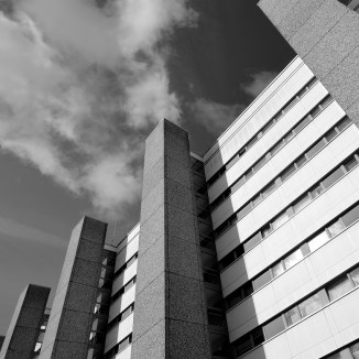 Wolfsburg-Detmerode, Schwedenhochhaus (Bild: Ulrich Knufinke)