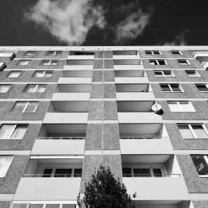 Wolfsburg-Westhagen, Wohnhaus (Bild: Ulrich Knufinke)