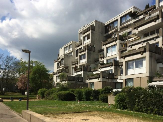 Bochum, Terrassenhaus Girondelle 84-90 (Bild: Claudia Volberg)