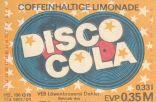 Disco Cola, VEB Löwenbrauerei Dahlen (Bild: historisches Etikett)