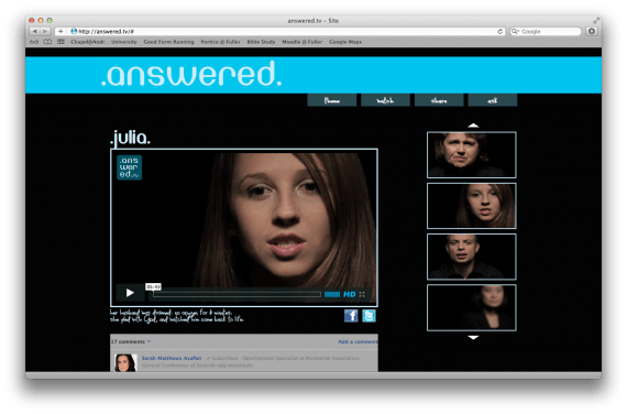 Answered.tv: A Great Resource To Hear Testimonies of Answered Prayers