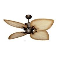 Outdoor Tropical Ceiling Fan - Oil Antique Bronze Bombay ...