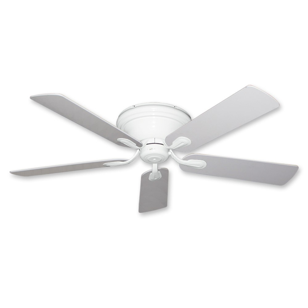ceiling fan light kits interstate enclosed trailer wiring diagram flush mount - 52 inch stratus in pure white finish