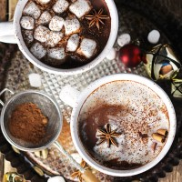 Vanilla Chai Hot Chocolate