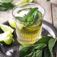 Ginger Whiskey Mojito