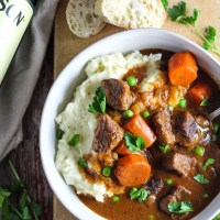 Slow Cooker Jameson Beef Stew