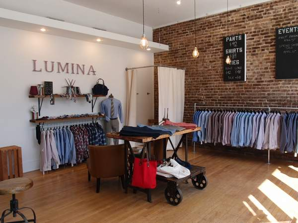 Lumina Clothing Raleigh North Carolina