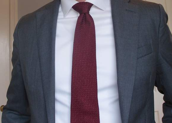 From blogging to e commerce gentlemans gazette launches fort ft belvedere grenadine tie ccuart Images