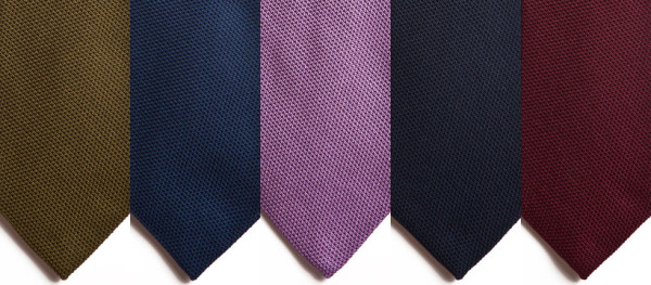 Paul Winston's $50 Grenadine Ties, Handmade in New York