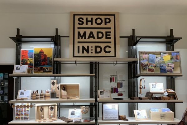 "First Look Inside the ""Made in DC"" Shop at the DC History Center in Apple's Carnegie Library"