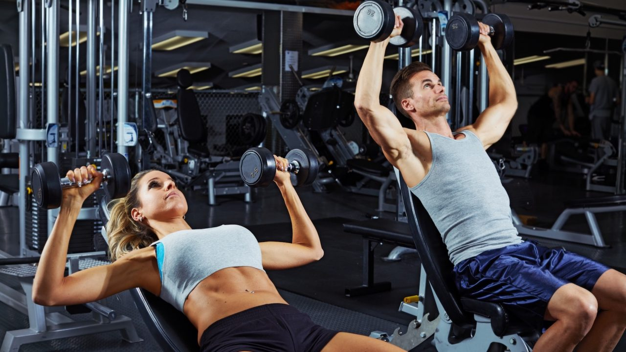 Chest And Triceps Superset Modern Fit