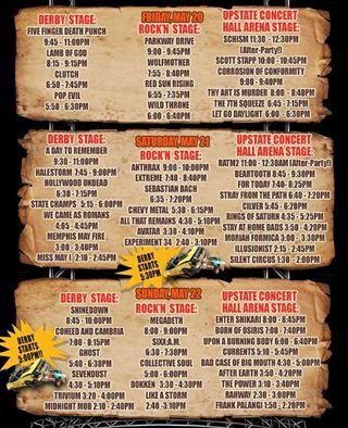 rock n derby 2016 lineup