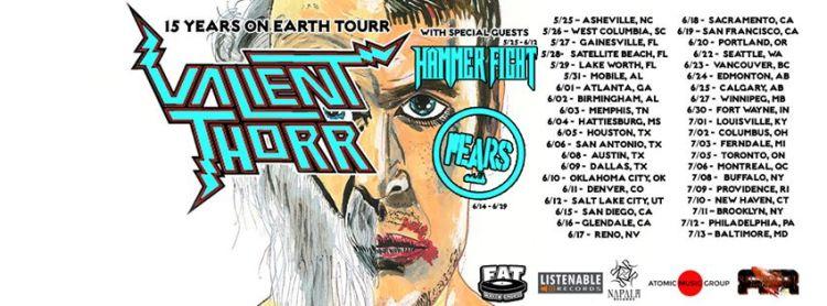 valient thorr tour 2016