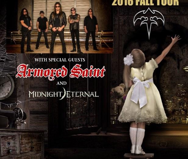 queensryche armored saint midnight eternal tour 2016