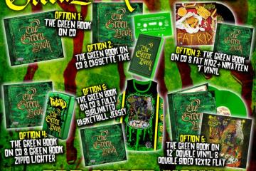 twiztid the green book pre order bundles