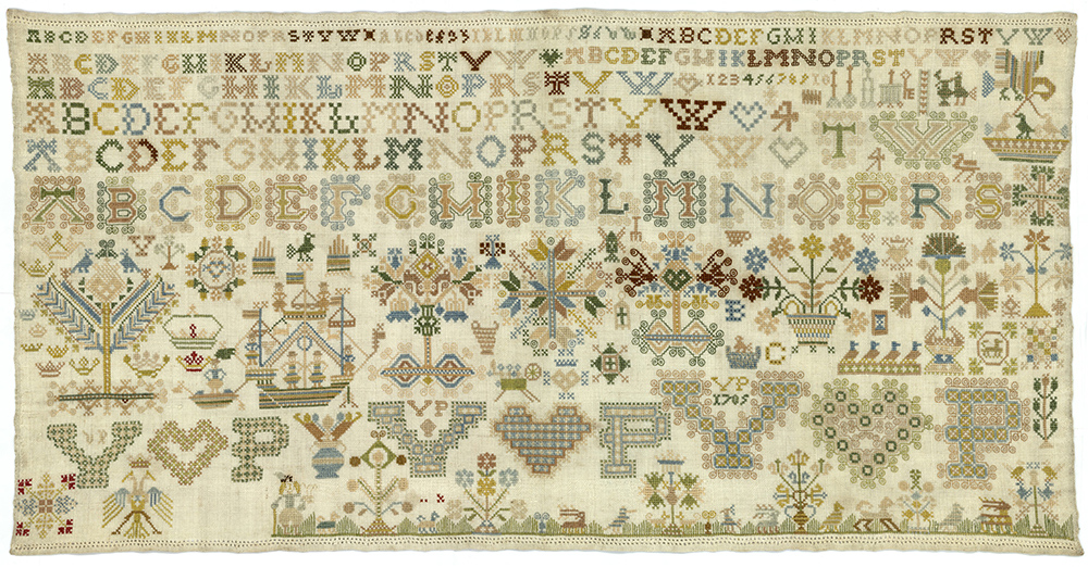 Frisian Sampler, early 18th century