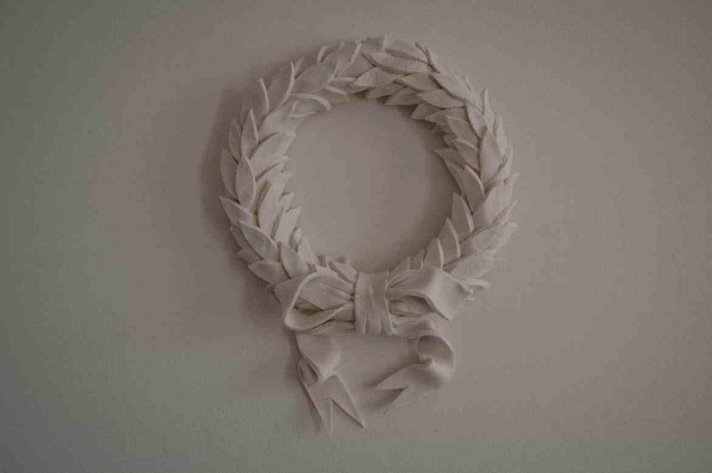 Salt Dough Christmas Wreath