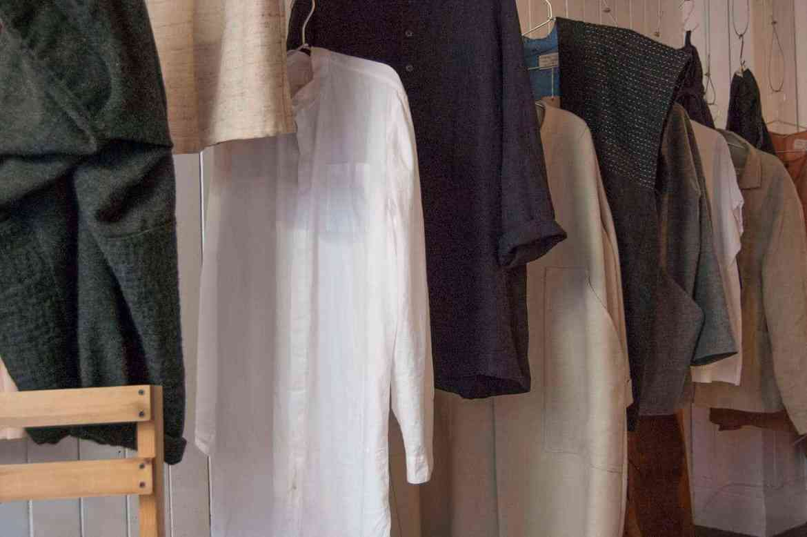 Handmade clothes at Harper & Carr in York, UK