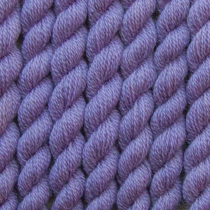 lavender hand dyed embroidery wool