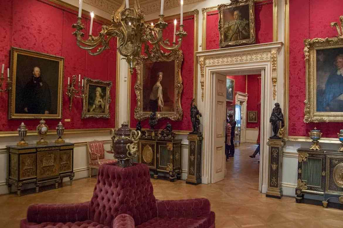 Front state room in The Wallace Collection, London