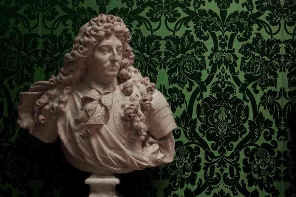 Bust of Louis XIV, King of France, at the Wallace Collection, London