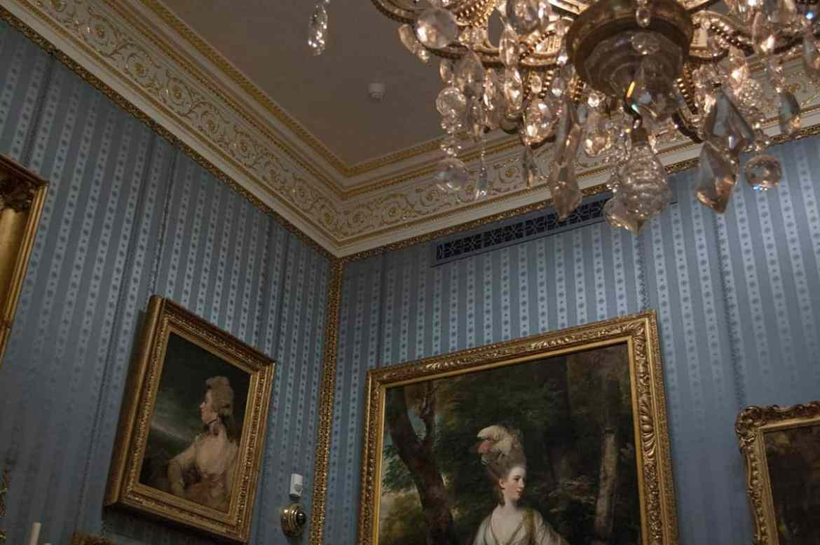 One of the rooms at the Wallace Collection, London