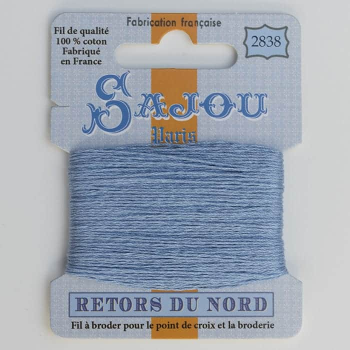 Retors du Nord 4-stranded embroidery floss by Maison Sajou