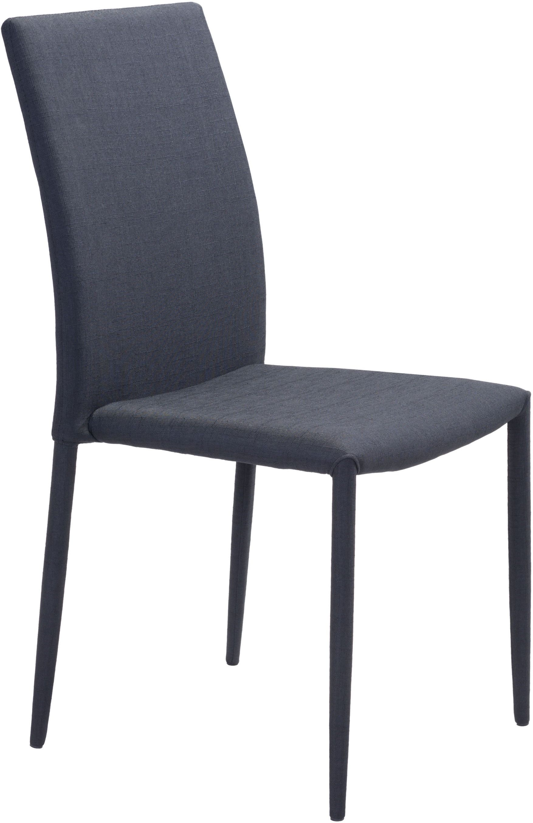 modern black chair set outdoor bistro zuo confidence dining of 4