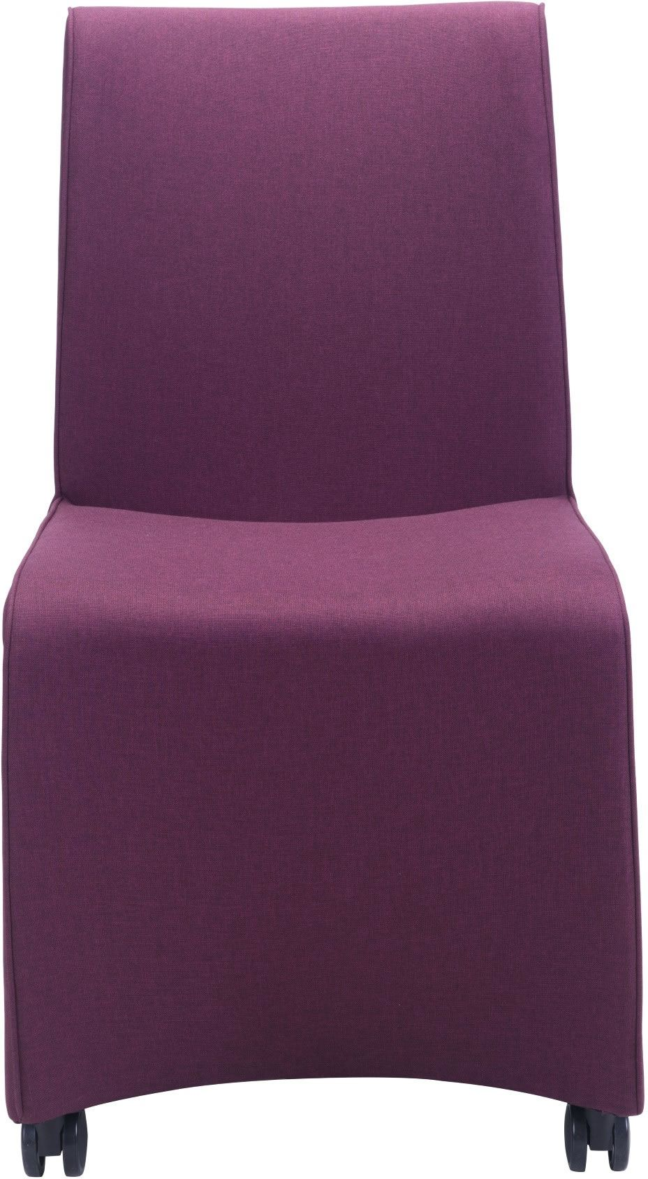 purple dining chairs canada black leather chair ikea zuo modern whittle set of 2