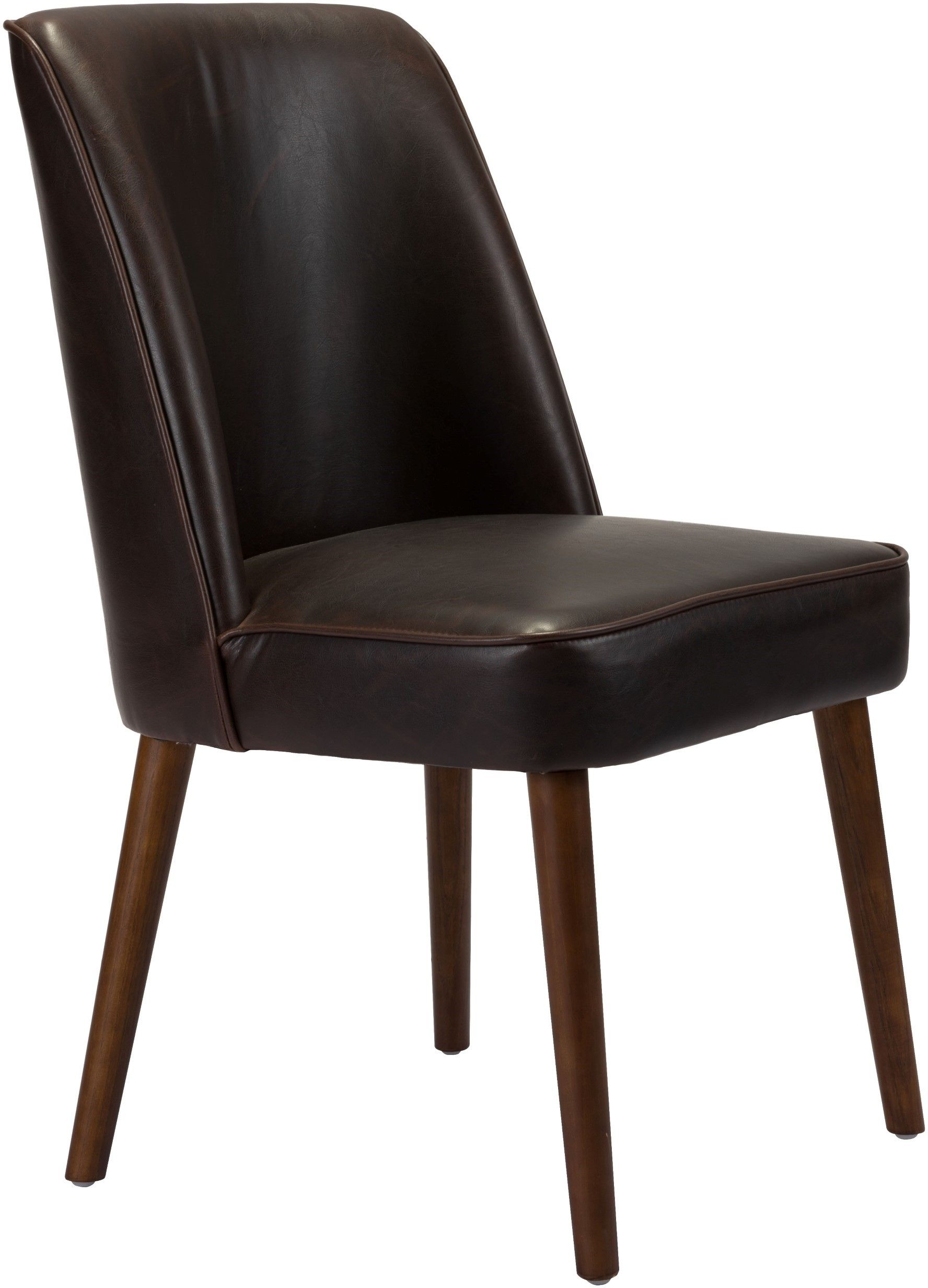 Zuo Modern Kennedy Dining Chair Set of 2  Brown  100721