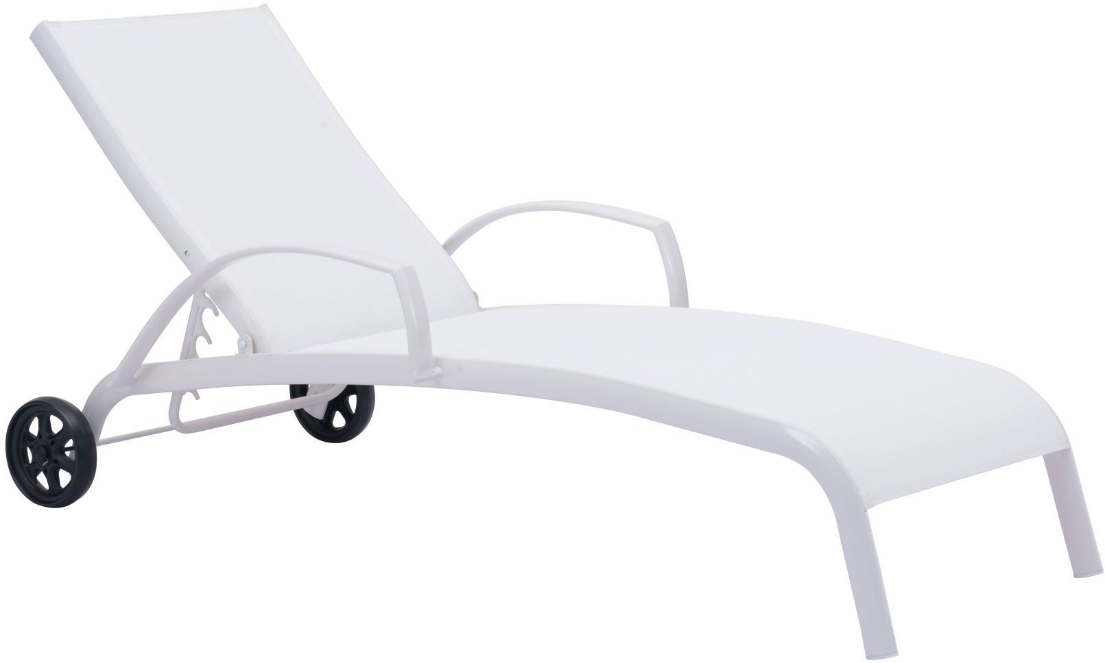 modern outdoor lounge chair canada black square pub table and chairs zuo vive casam chaise white 703602