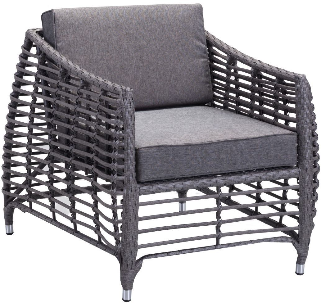 modern outdoor lounge chair canada nash accessories zuo vive wreak beach ii arm grey disc