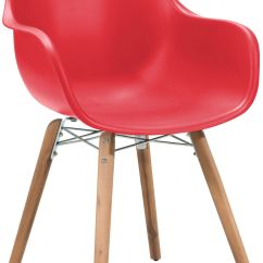 Red Dining Room Chairs Canada Bedroom Chair Recliner Zuo Modern Tidal Set Of 4 703754