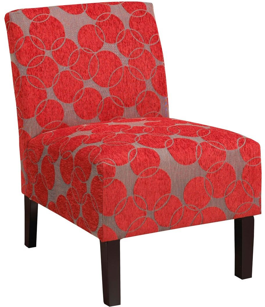 nspire Lanai Accent Chair Red  403775RD  Modern