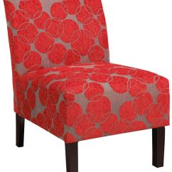 Living Room Lounge Chair Canada Black And White Wall Pictures For !nspire Lanai Accent (red) - 403-775rd | Modern ...