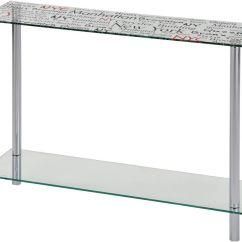 Vogue Chrome Sofa Table Dove Grey Nspire Soho Console 502 749 Modern