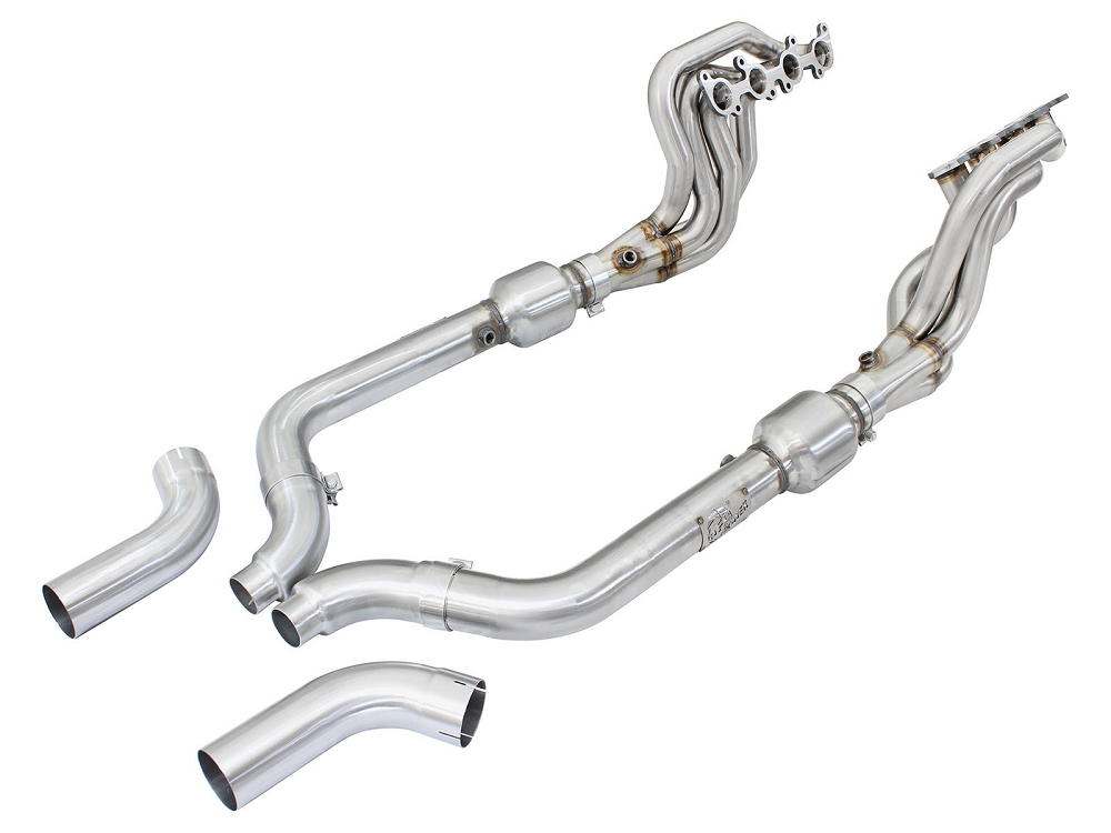 2015-2017 Ford Mustang GT V8 aFe POWER Twisted Stainless