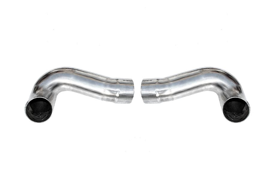 2009-2011 Porsche 997.2 Carrera Side Muffler Bypass Pipes