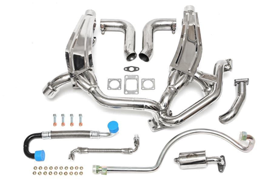 1976-1989 Porsche 911 Turbo 930 Sport Headers with Heat
